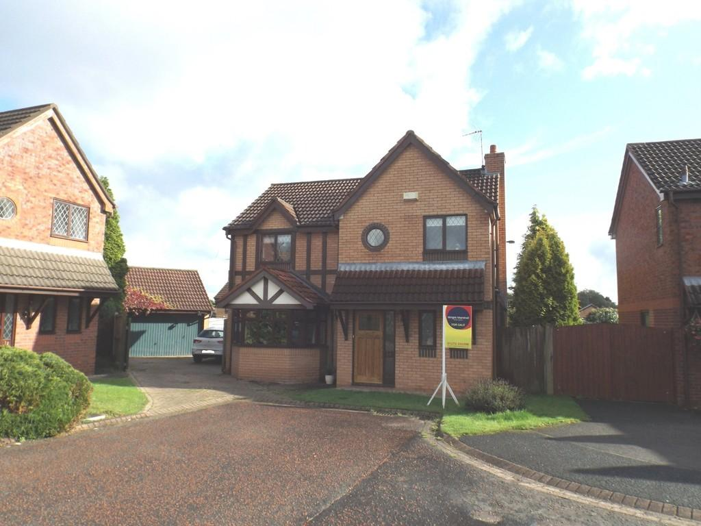 4 Bedrooms Detached House for sale in Barnwell Close, Wistaston