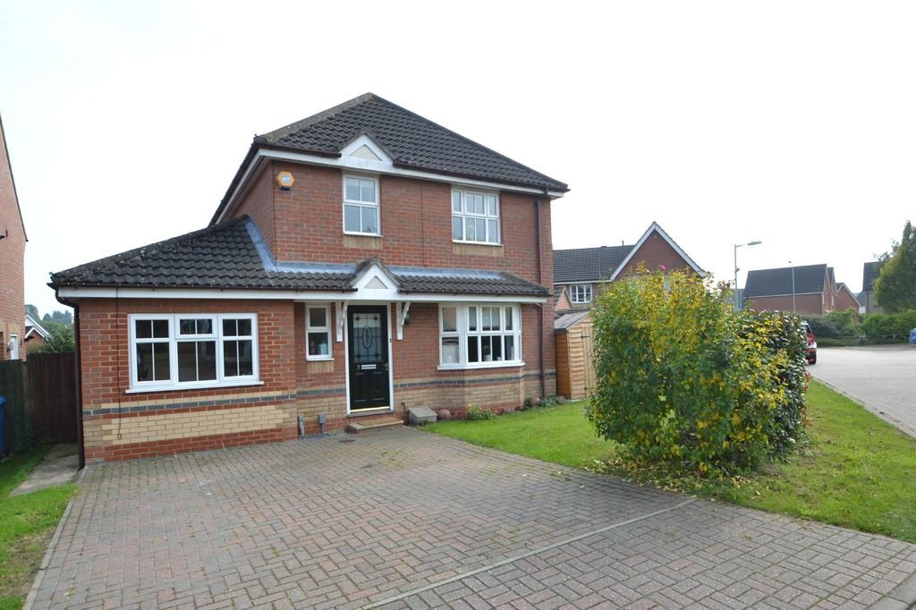 4 Bedrooms Detached House for sale in Fritillary Close, Pinewood, Ipswich, IP8 3QT
