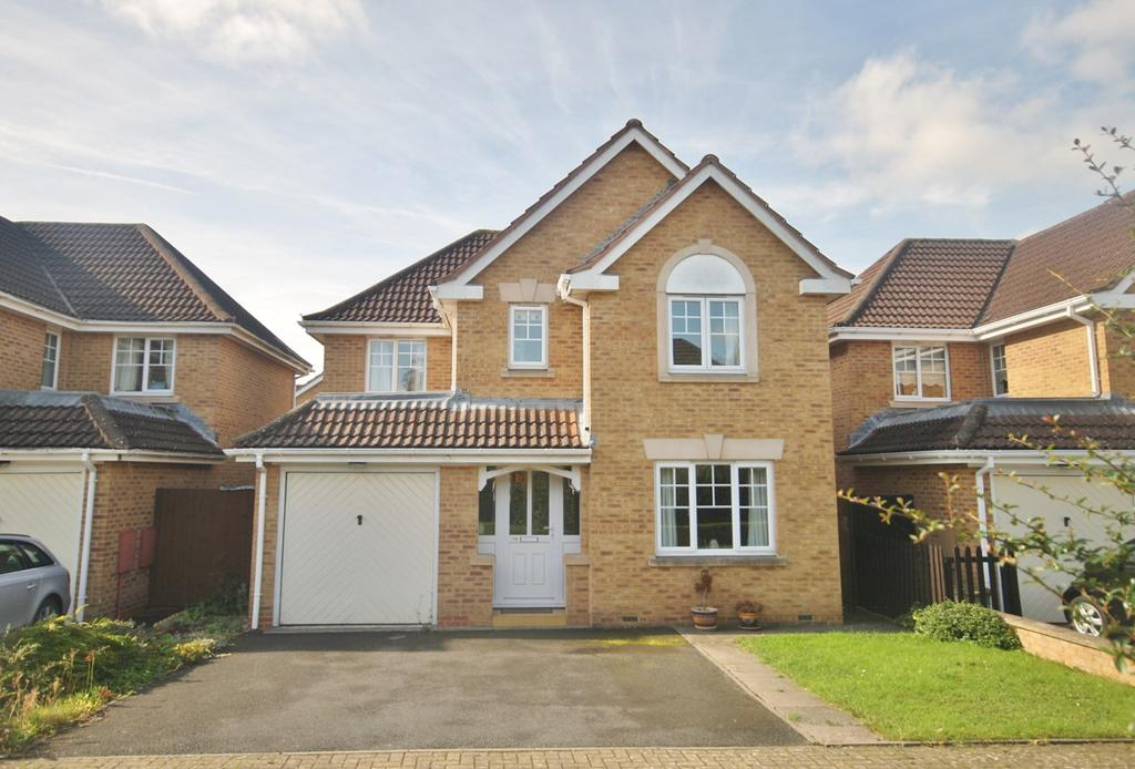 4 Bedrooms Detached House for sale in Belgravia Gardens, Hereford, HR1
