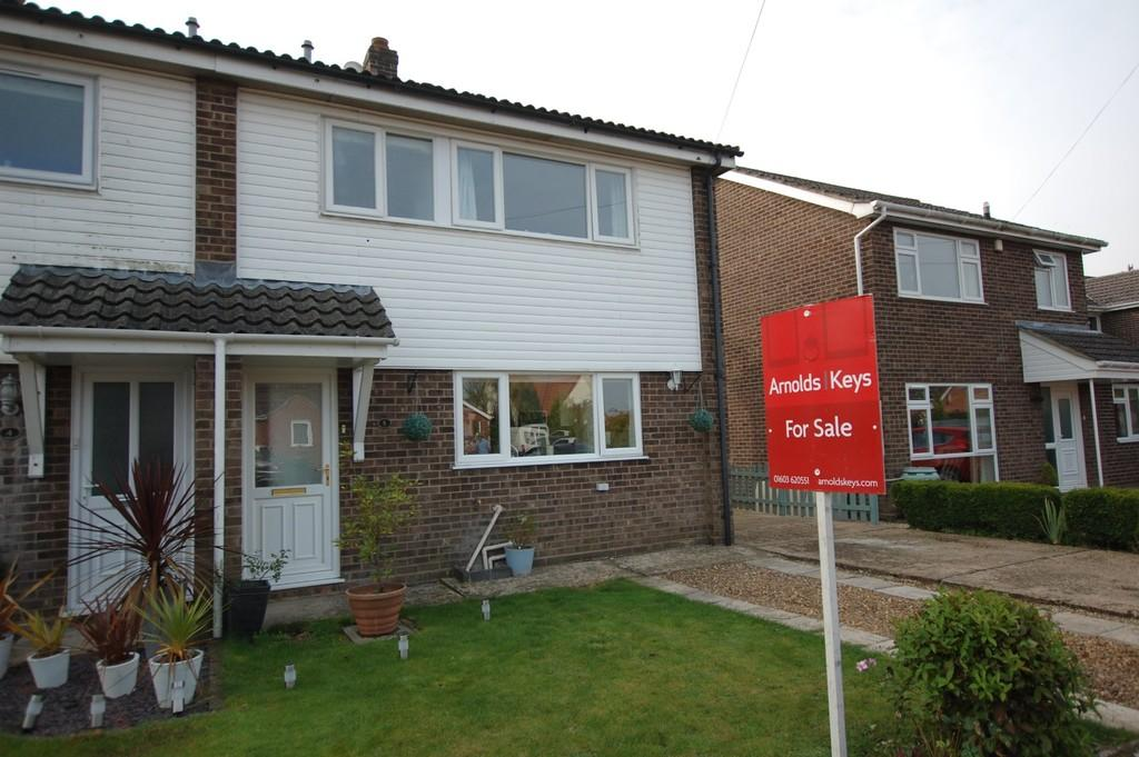 3 Bedrooms Semi Detached House for sale in John Howes Close, Easton