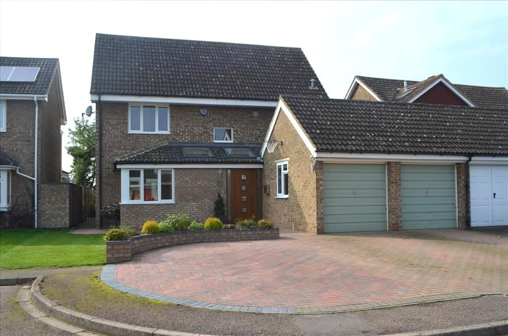 4 Bedrooms Detached House for sale in Kittiwake Close, Biggleswade, SG18