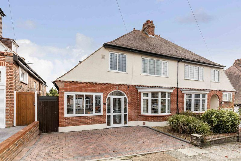 4 Bedrooms Semi Detached House for sale in Padwick Avenue, East Cosham