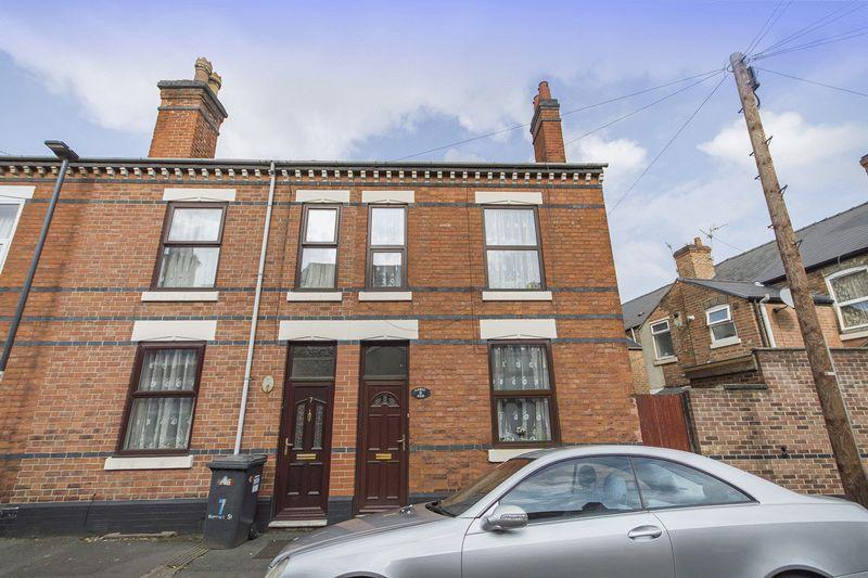 2 Bedrooms End Of Terrace House for sale in HARRIET STREET, DERBY