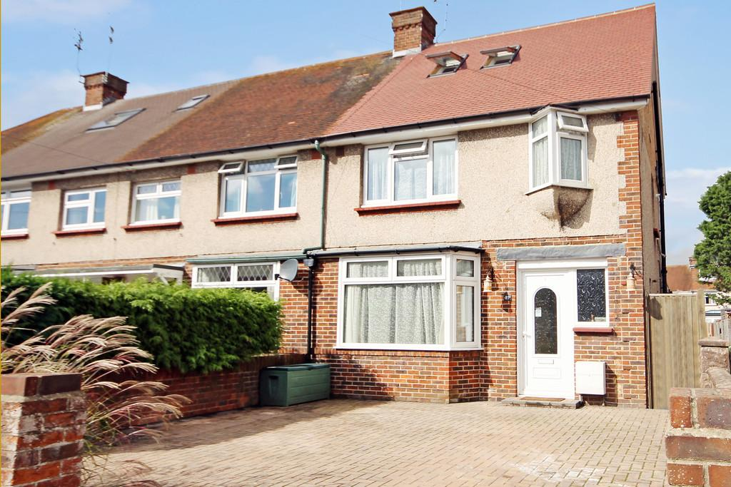 4 Bedrooms End Of Terrace House for sale in 89 Congreve Road, Worthing, BN14 8EN