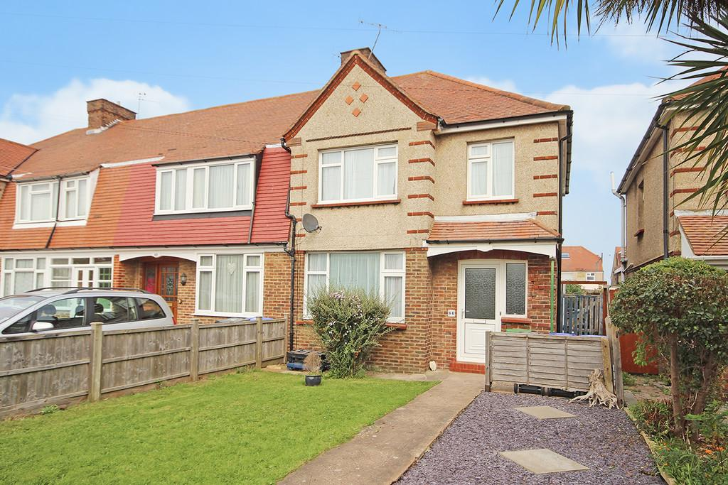3 Bedrooms End Of Terrace House for sale in Marlowe Road, Worthing, BN14 8EZ