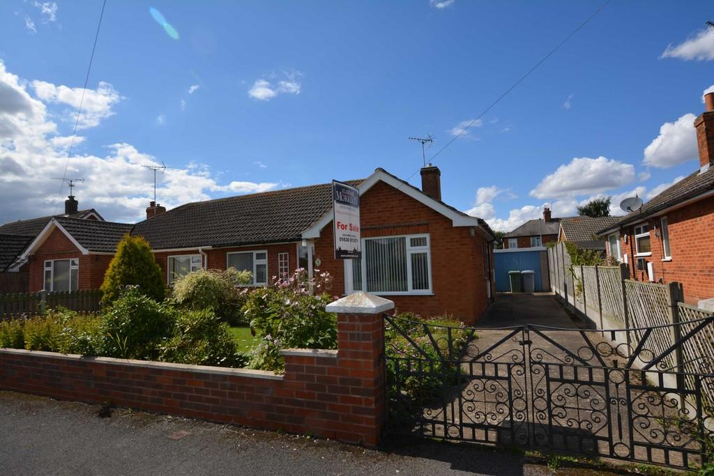2 Bedrooms Semi Detached Bungalow for sale in Gordon Close, Farnsfield