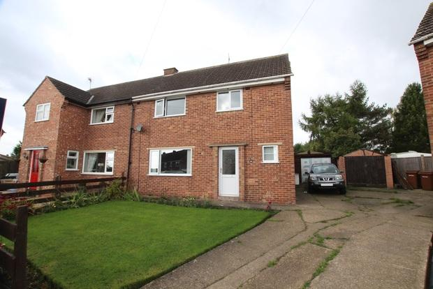 3 Bedrooms Semi Detached House for sale in Regency Road, Asfordby, Melton Mowbray, LE14