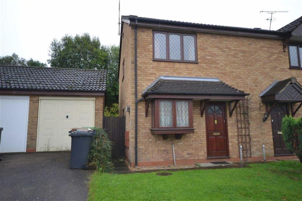2 Bedrooms Semi Detached House for sale in Barons Croft, Stockingford, Nuneaton