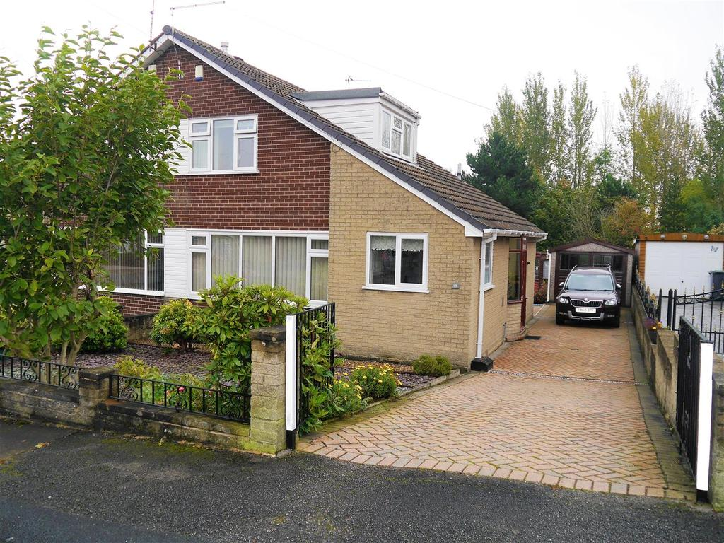 3 Bedrooms Semi Detached Bungalow for sale in Silver Birch Avenue, Wyke, Bradford, BD12 9EP