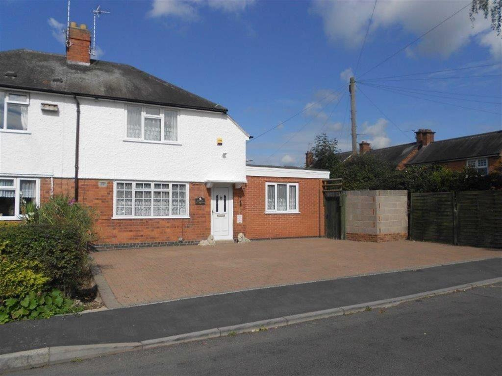 3 Bedrooms Semi Detached House for sale in The Avenue, Glenfield
