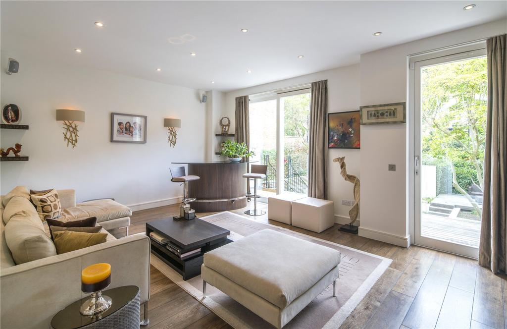 4 Bedrooms Semi Detached House for sale in Hill Road, St John's Wood