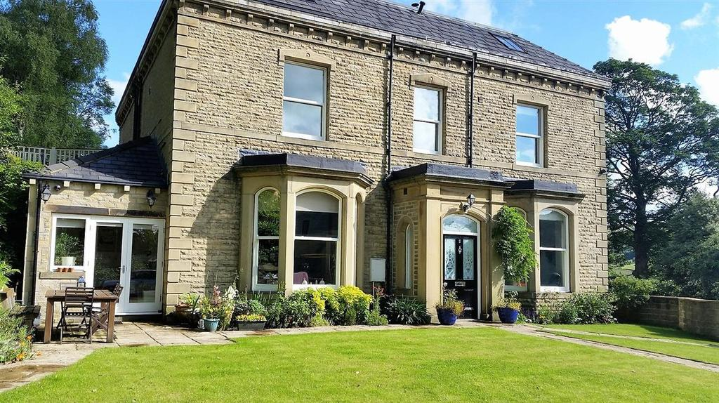5 Bedrooms Semi Detached House for sale in Thorn Bank House, 5 Thorn Bank, Off New Road, Halifax