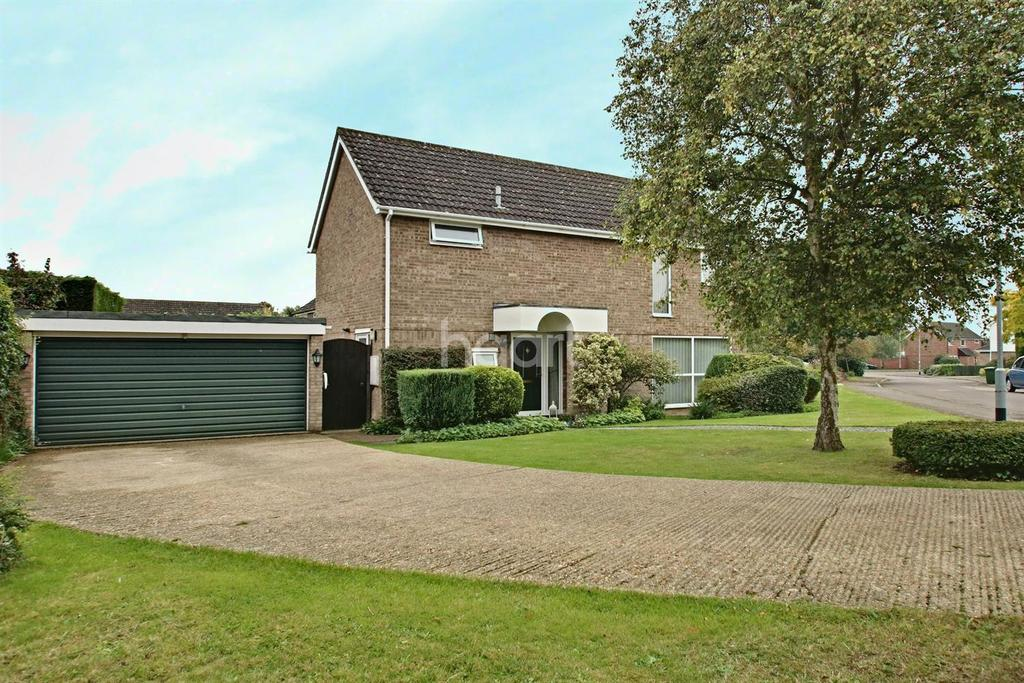 4 Bedrooms Detached House for sale in Rutland Green, Hilton, Cambs