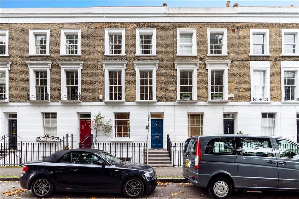 4 Bedrooms Terraced House for sale in Arlington Square, London, N1