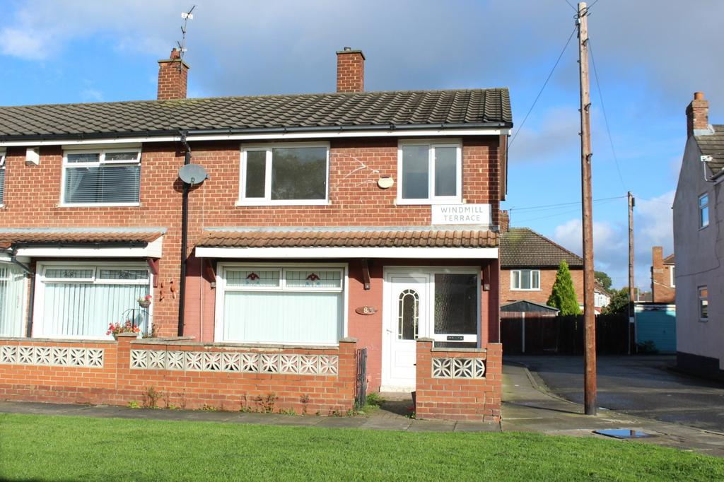 3 Bedrooms Semi Detached House for sale in Windmill Terrace, Norton, TS20