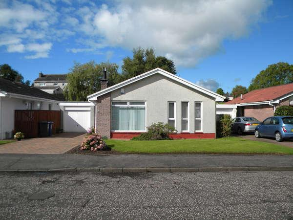 2 Bedrooms Detached Bungalow for sale in 6 Broomfield, Houston, Renfrewshire, PA6 7DH