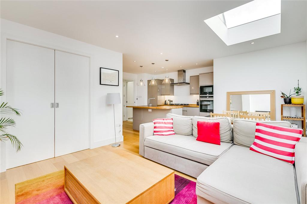 2 Bedrooms Flat for sale in Mablethorpe Road, Fulham, London