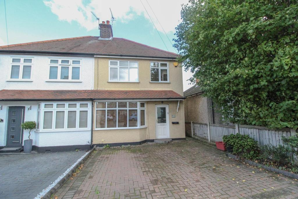 3 Bedrooms Semi Detached House for sale in Ongar Road, Brentwood, Essex, CM15