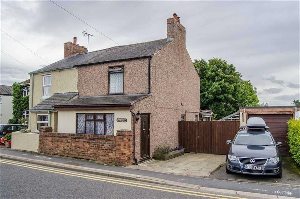 3 Bedrooms Semi Detached House for sale in Somerset Cottage, Penyffordd, Chester, Chester, Flintshire