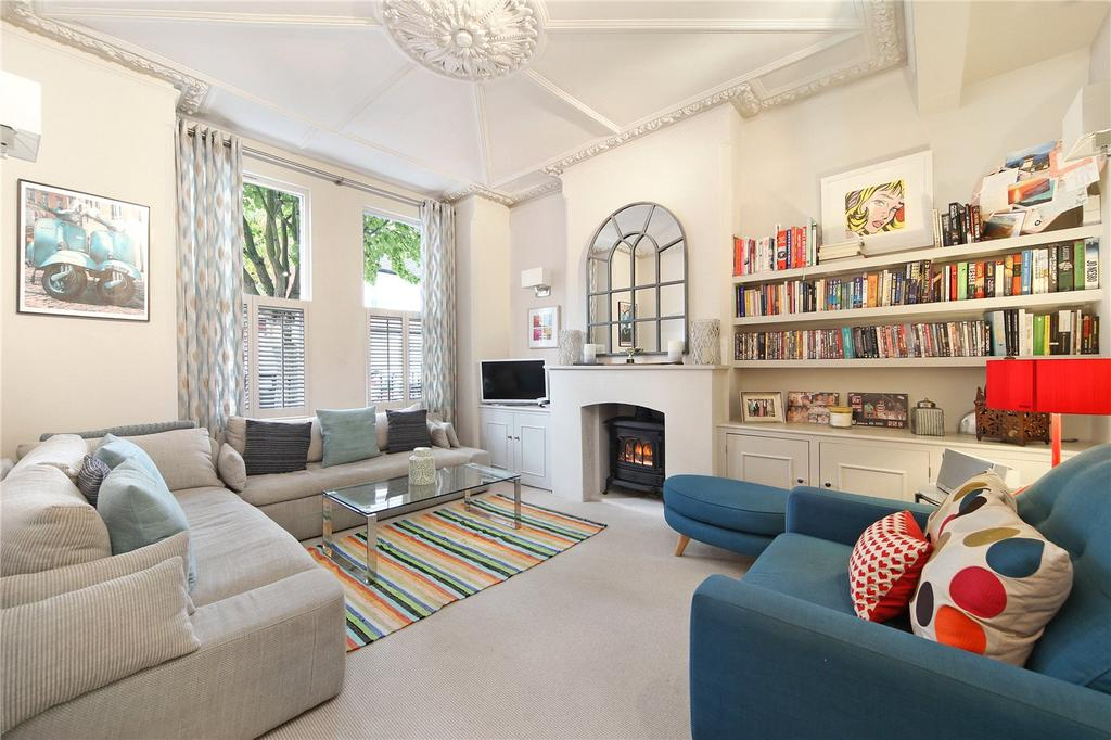 3 Bedrooms Flat for sale in Kinnoul Road, London, W6