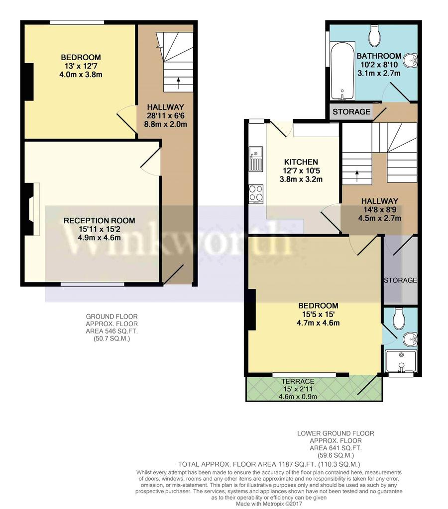 Heritage court castle hill reading berkshire rg1 2 bed for Reading a floor plan