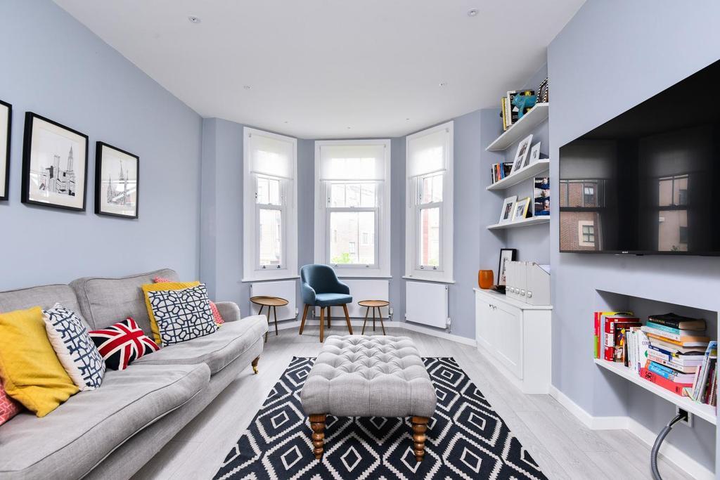 2 Bedrooms Flat for sale in Marius Road, Balham