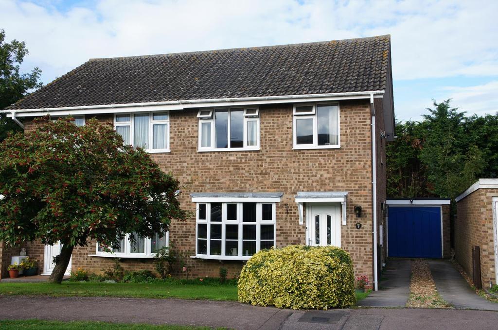 3 Bedrooms Semi Detached House for sale in Partridge Piece, Cranfield, Bedfordshire