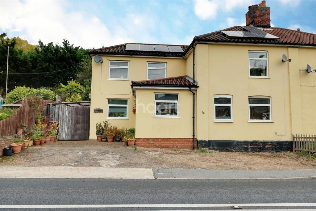 3 Bedrooms Semi Detached House for sale in Ipswich Road, Woodbridge