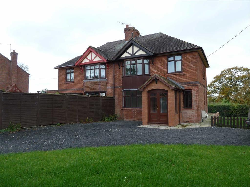 3 Bedrooms Semi Detached House for rent in Grange Road, Ellesmere, SY12