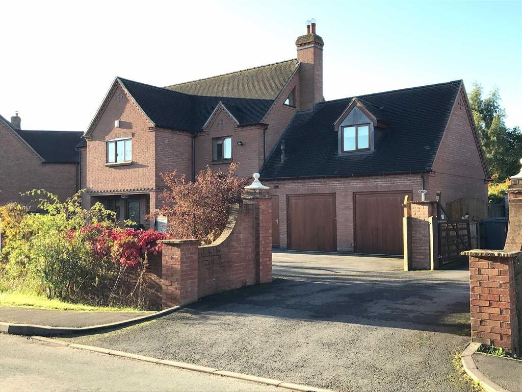 6 Bedrooms Detached House for sale in Willowbrook Manor, Cockshutt, SY12