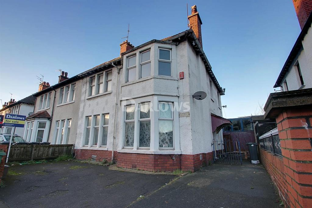 4 Bedrooms Semi Detached House for sale in Newport Road, Cardiff