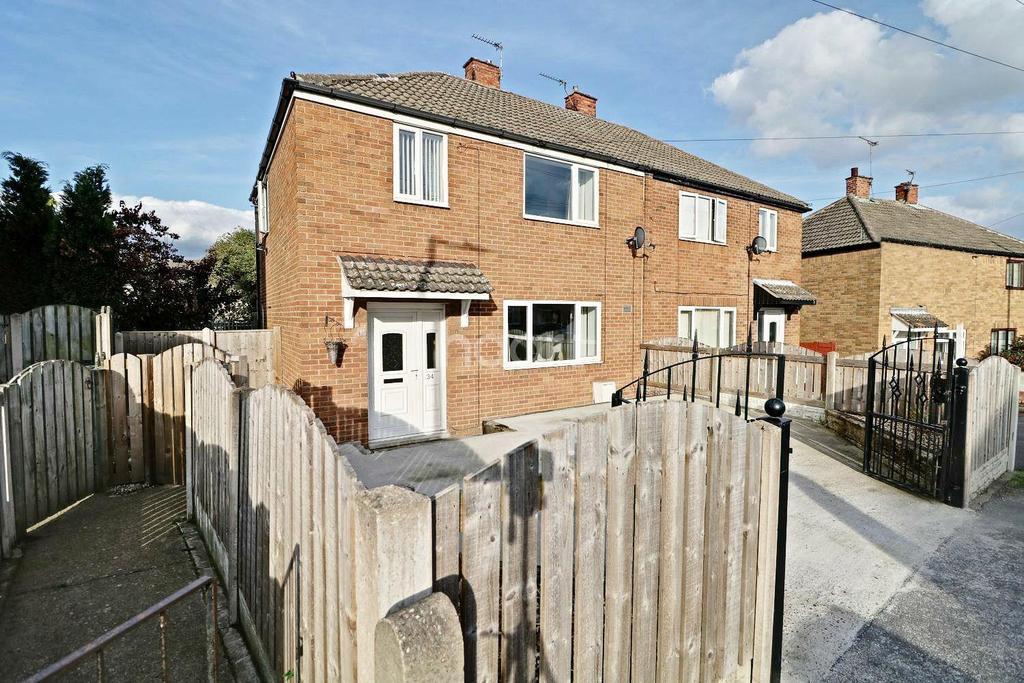 3 Bedrooms Semi Detached House for sale in Martin Wells Road, Edlington, Doncaster