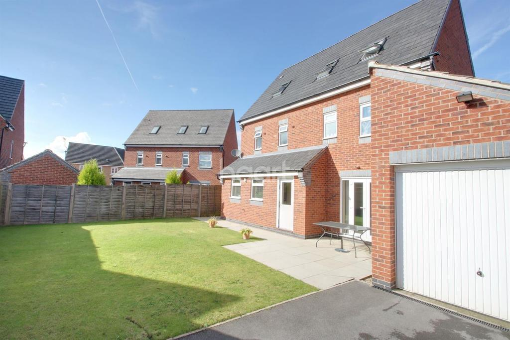 5 Bedrooms Detached House for sale in Hornbeam Way, Kirkby-in-Ashfield