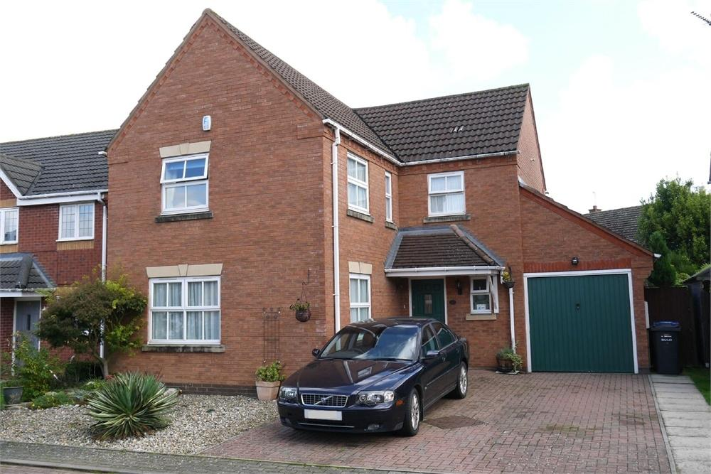 4 Bedrooms Detached House for sale in Allfrey Close, Lutterworth, Leicestershire