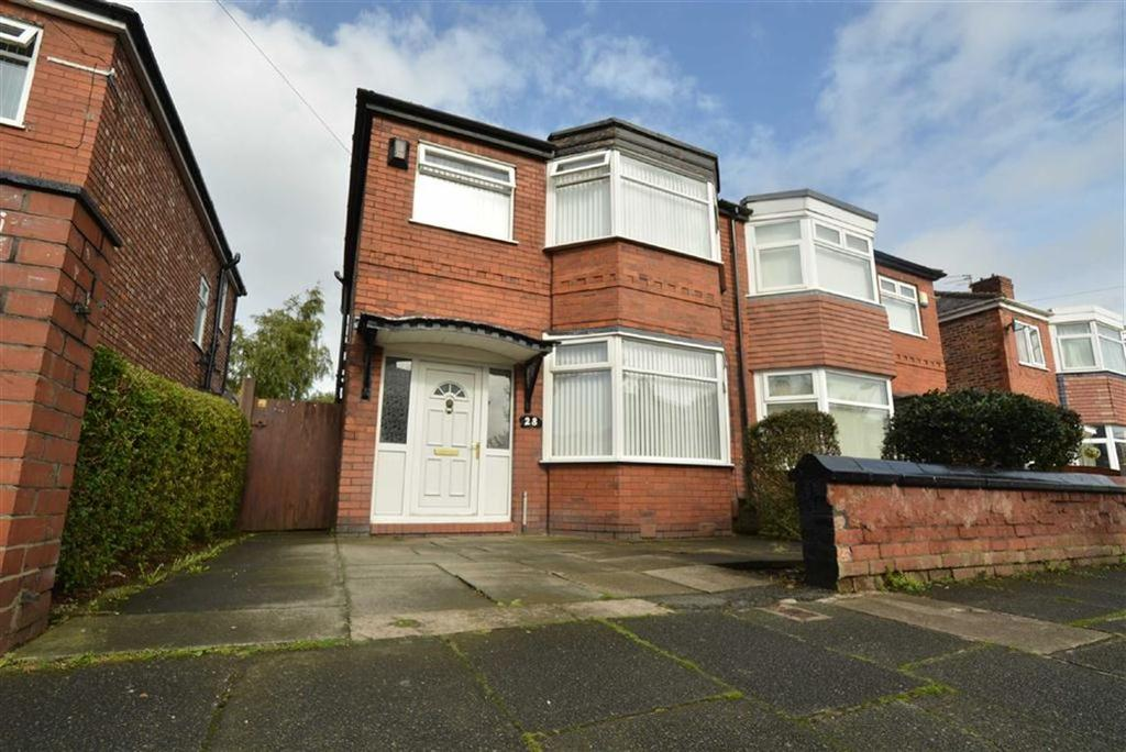 3 Bedrooms Semi Detached House for sale in Melville Road, STRETFORD