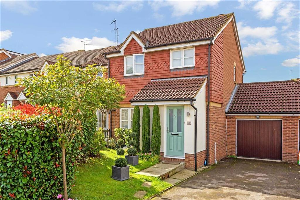 3 Bedrooms Semi Detached House for sale in Badgers Close, Hertford, SG13