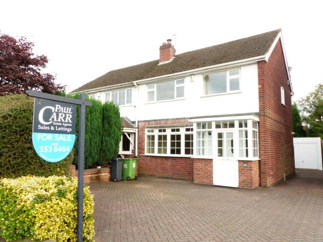 3 Bedrooms Semi Detached House for sale in Bridle Lane,Streetly,Sutton Coldfield