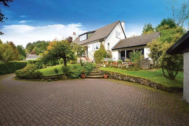 3 Bedrooms Detached House for sale in Shieldaig, 29 Kirkhouse Road, Strathblane, G63 9BX