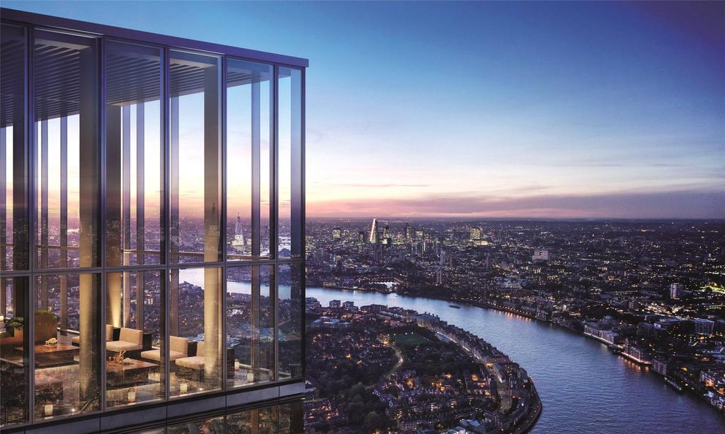 3 Bedrooms Flat for sale in Landmark Pinnacle, Marsh Wall, London, E14