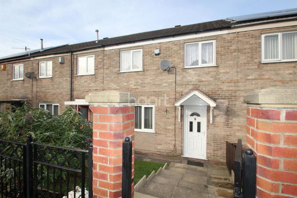 2 Bedrooms Terraced House for sale in Oakham Close, Top Valley, Nottingham