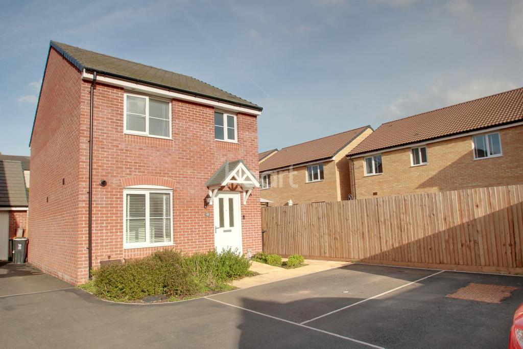 3 Bedrooms Detached House for sale in Aluminium Close, Jubilee Park, Rogerstone, Newport