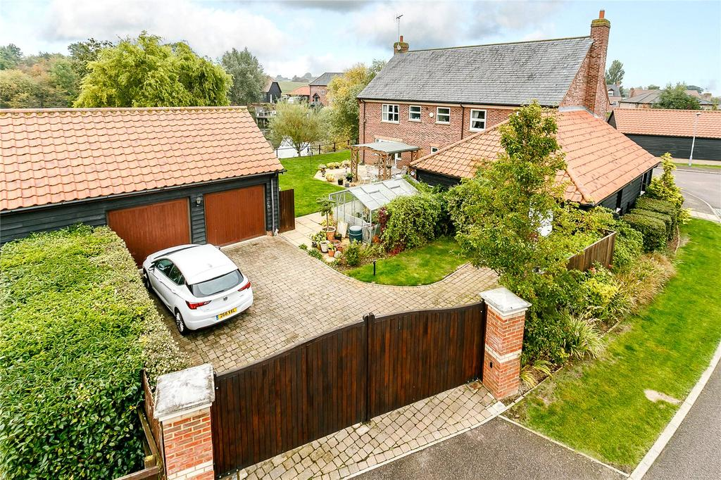 5 Bedrooms Detached House for sale in Lovett Green, Sharpenhoe, Bedford