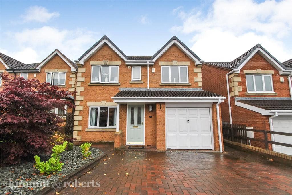 4 Bedrooms Detached House for sale in Okehampton Drive, Newbottle, Tyne and Wear, DH4