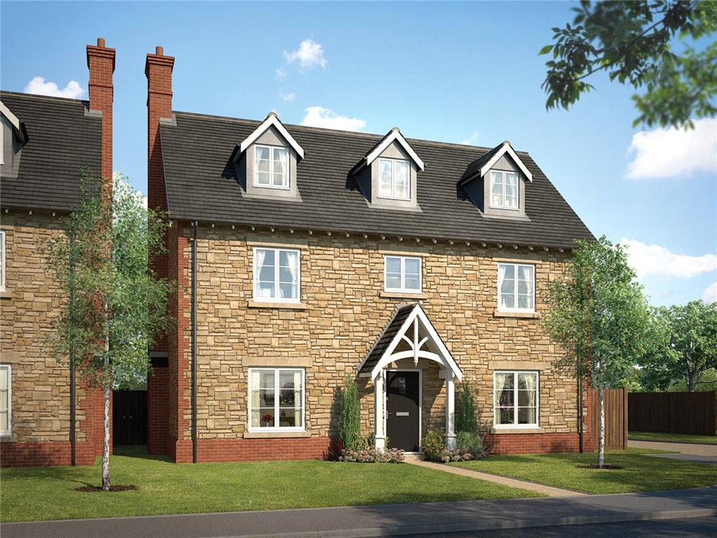 5 Bedrooms Detached House for sale in Cottingham Drive, Moulton, Northampton, Northamptonshire, NN3