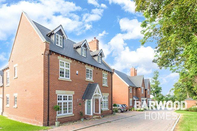 5 Bedrooms Detached House for sale in Millbrook Grange Development, Moulton, Northampton, Northamptonshire, NN3