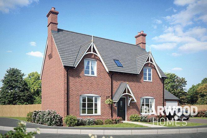 3 Bedrooms Detached House for sale in Millbrook Grange Development, Moulton, Northampton, Northamptonshire, NN3