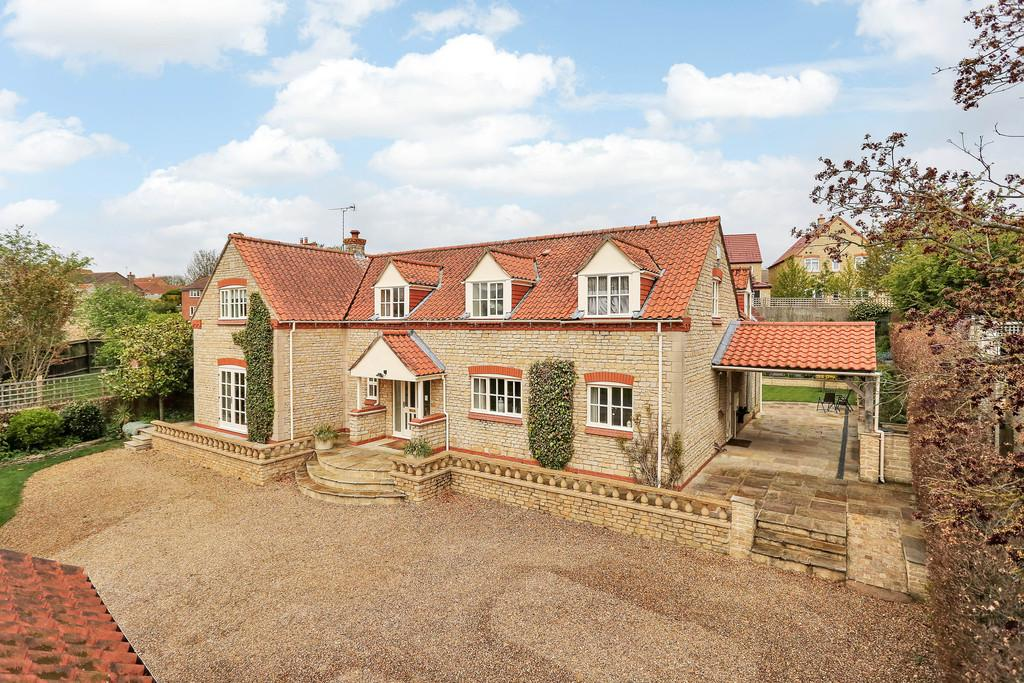4 Bedrooms Detached House for sale in Newton Way, Woolsthorpe by Colsterworth