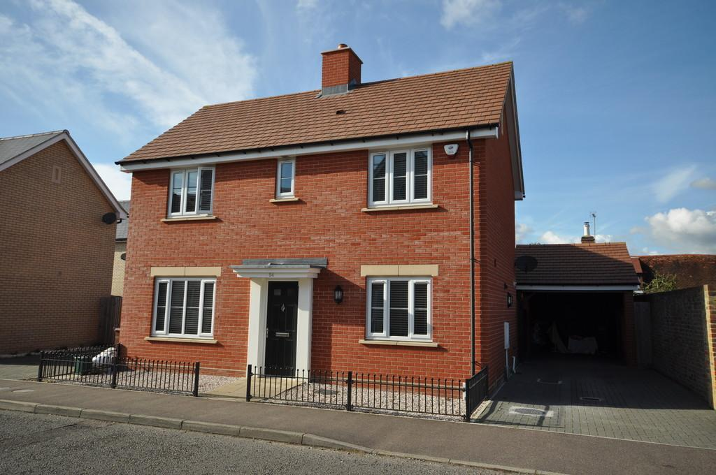 4 Bedrooms Detached House for sale in New Farm Road, Stanway, CO3 0PG