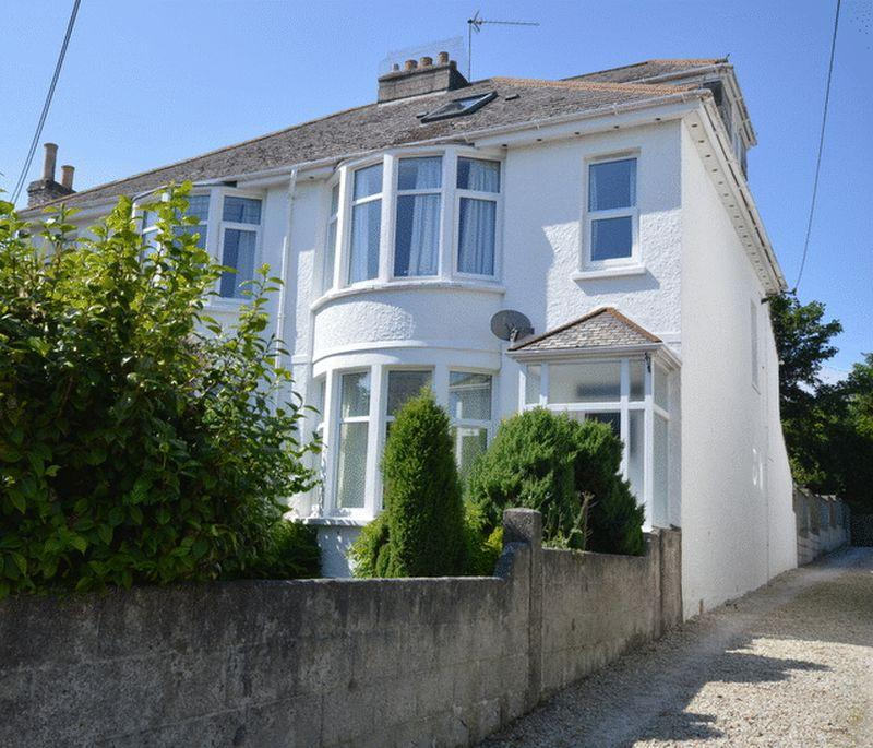 4 Bedrooms Semi Detached House for sale in Victoria Road, St Austell