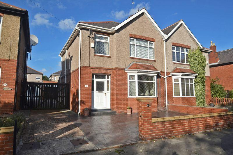 3 Bedrooms Semi Detached House for sale in Queen Alexandra Road West, North Shields
